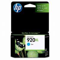 HP CD972A No. 920XL tintapatron - cyan (Hewlett-Packard CD972A)