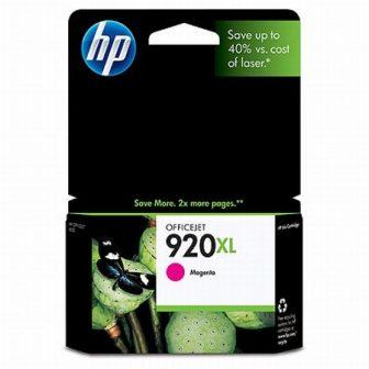 HP CD973A No. 920XL tintapatron - magenta (Hewlett-Packard CD973A)