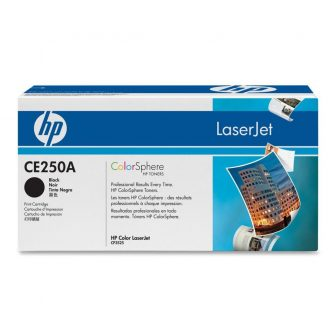HP CE250A festékkazetta (No. 504A) - fekete (Hewlett-Packard CE250A)