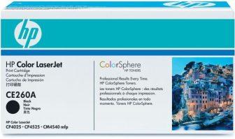 HP CE260A toner cartridge - fekete (Hewlett-Packard CE260A)