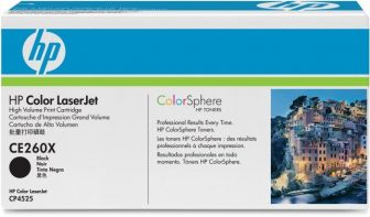 HP CE260X toner cartridge - fekete (Hewlett-Packard CE260X)