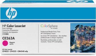 HP CE263A toner cartridge - magenta (Hewlett-Packard CE263A)