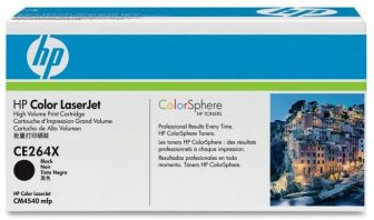 HP CE264X toner cartridge - fekete (Hewlett-Packard CE264X)