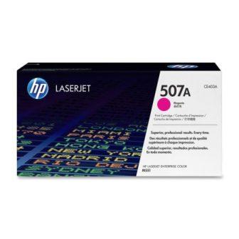 HP CE403A toner cartridge (507A) - magenta (Hewlett-Packard CE403A)