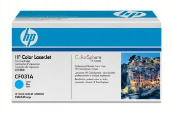 HP CF031A toner cartridge - cyan (Hewlett-Packard CF031A)