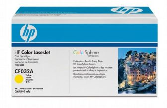 HP CF032A toner cartridge - yellow (Hewlett-Packard CF032A)