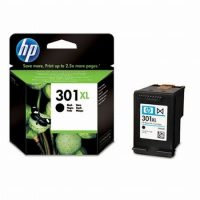 HP CH563E No. 301XL tintapatron - black (Hewlett-Packard CH563E)