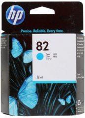HP C4911A No. 82 tintapatron - cyan (Hewlett-Packard CH566A)