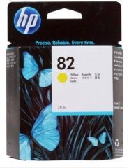 HP C4913A No. 82 tintapatron - yellow (Hewlett-Packard CH568A)