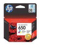 HP CZ102A No. 650 tintapatron - colour (Hewlett-Packard CZ102A)