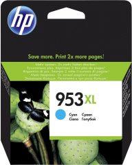 HP F6U16A No. 953XL tintapatron - ciánkék (Hewlett-Packard F6U16A)