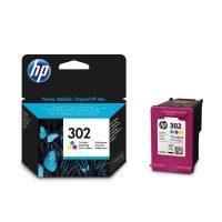 HP F6U65AE No. 302 tintapatron - colour (Hewlett-Packard F6U65AE)