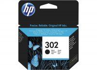 HP F6U66AE No. 302 tintapatron - black (Hewlett-Packard F6U66AE)