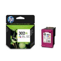 HP F6U67AE No. 302XL tintapatron - colour (Hewlett-Packard F6U67AE)