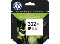 HP F6U68AE No. 302XL tintapatron - black (Hewlett-Packard F6U68AE)
