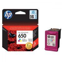 HP F6V24AE No. 652 tintapatron - színes (Hewlett-Packard F6V24AE)