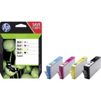 HP N9J73AE No. 364XL nagykapacitású tintapatron csomag - 3 szín + fekete (Hewlett-Packard N9J73AE)