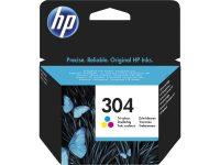 HP N9K05AE No. 304 tintapatron - színes (Hewlett-Packard N9K05AE)