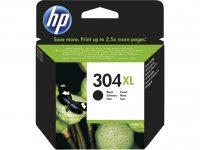 HP N9K08AE No. 304XL tintapatron - fekete (Hewlett-Packard N9K08AE)