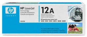 HP Q2612A toner cartridge - fekete (Hewlett-Packard Q2612A)