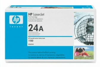 HP Q2624A toner cartridge - fekete (Hewlett-Packard Q2624A)