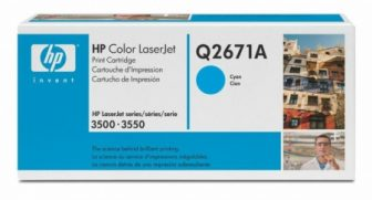 HP Q2671A toner cartridge - ciánkék (Hewlett-Packard Q2671A)
