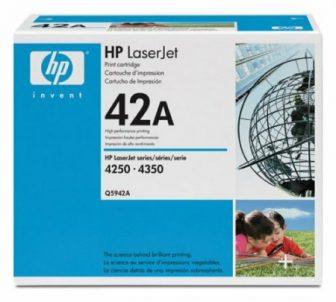 HP Q5942A toner cartridge - fekete (Hewlett-Packard Q5942A)