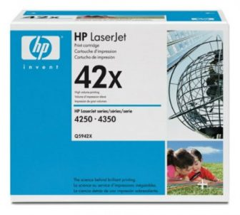 HP Q5942X toner cartridge - fekete (Hewlett-Packard Q5942X)