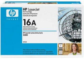 HP Q7516A toner cartridge - fekete (Hewlett-Packard Q7516A)