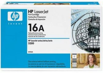 HP Q7516A toner cartridge - fekete (Hewlett-Packard Q7516A)