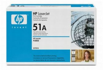HP Q7551A toner cartridge - fekete (Hewlett-Packard Q7551A)