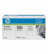 HP Q7553XD toner cartridge pack - 2 x HP Q7553X toner - fekete (Hewlett-Packard Q7553XD)