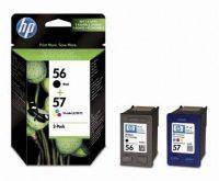 HP SA342A No. 56, 57 csomag - 1 x HP C6656A, 1 x HP C6657A - black, colour (Hewlett-Packard SA342A)
