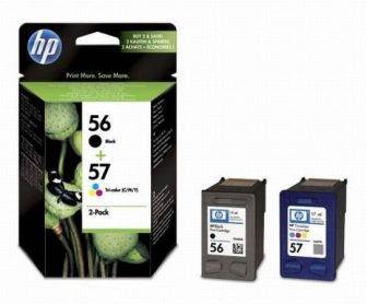 HP SA342A No. 56, 57 csomag - 1 x HP C6656A, 1 x HP C6657A - black, colour (Hewlett-Packard SA342A)