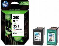 HP SD412E No. 350, 351 csomag - 1 x HP CB335E, 1 x HP CB337E - black, colour (Hewlett-Packard SD412E)