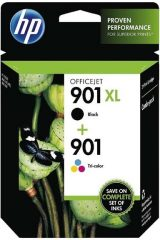 HP SD519A No. 901XL fekete + No. 901 színes patron egy csomagban (Hewlett-Packard SD519AE)