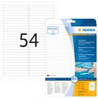Herma 10015 nyomtatható öntapadós visszaszedhető etikett címke