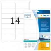Herma 10016 nyomtatható öntapadós visszaszedhető etikett címke