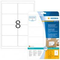 Herma 10018 nyomtatható öntapadós visszaszedhető etikett címke