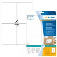 Herma 10019 nyomtatható öntapadós visszaszedhető etikett címke
