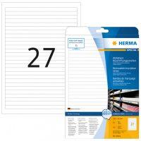 Herma 10022 nyomtatható öntapadós visszaszedhető etikett címke