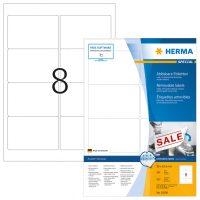 Herma 10308 nyomtatható öntapadós visszaszedhető etikett címke