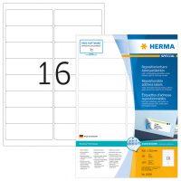Herma 10309 nyomtatható öntapadós visszaszedhető etikett címke