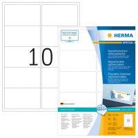 Herma 10316 nyomtatható öntapadós visszaszedhető etikett címke