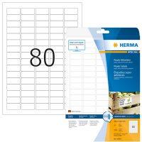 Herma 10901 fehér színű öntapadó etikett címke