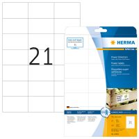 Herma 10906 fehér színű öntapadó etikett címke