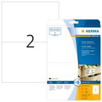 Herma 10910 fehér színű öntapadó etikett címke