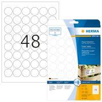 Herma 10915 fehér színű öntapadó etikett címke