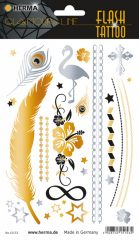"""Herma Flash Tattoo No. 15153 öntapadó tetoválás matrica """"Star"""" motívumokkal."""