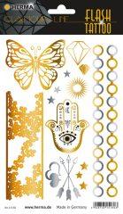 """Herma Flash Tattoo No. 15160 öntapadó tetoválás matrica """"Orient"""" motívumokkal."""